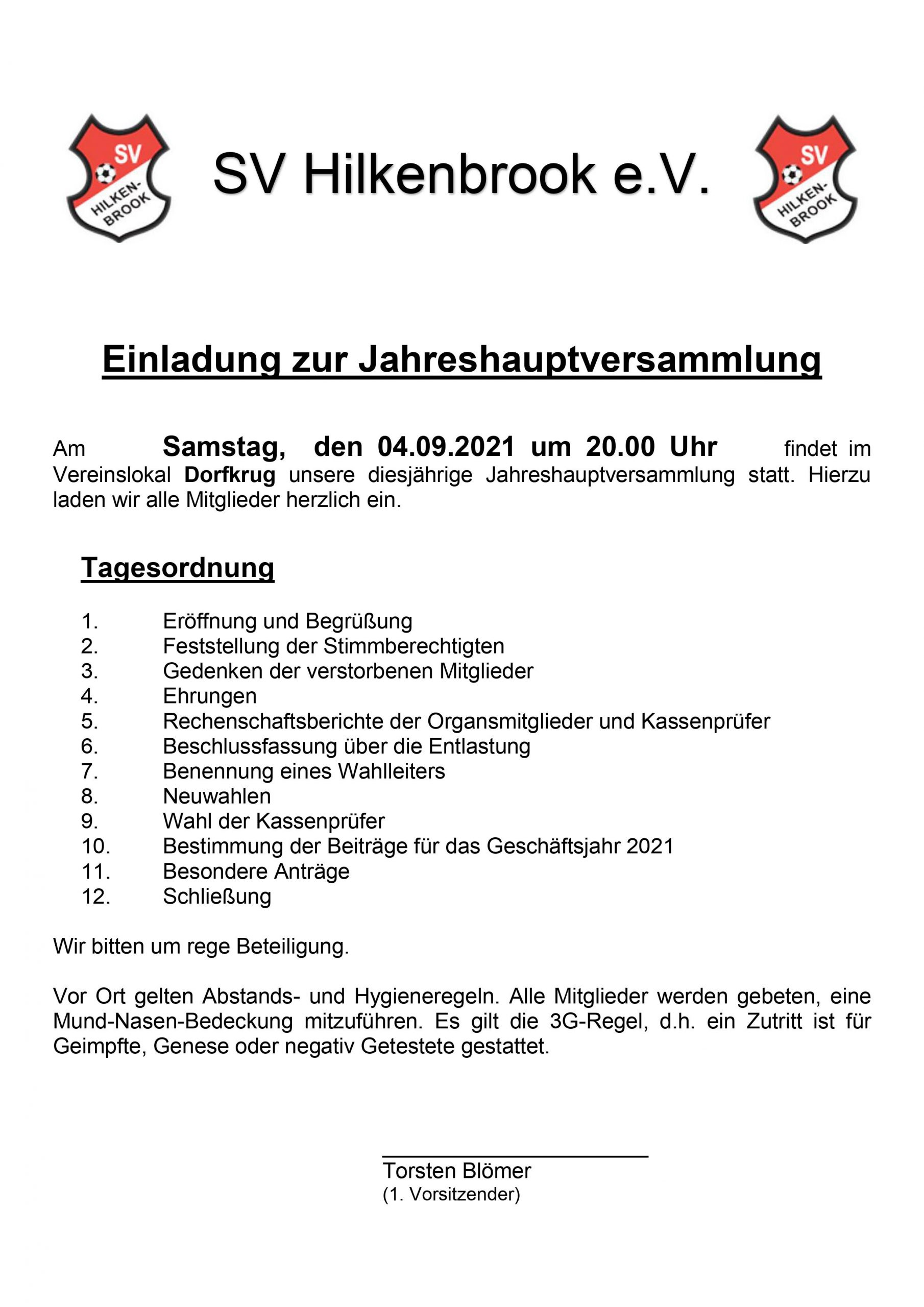 Read more about the article Generalversammlung 2021
