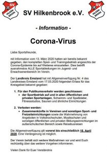 Read more about the article Corona-Virus