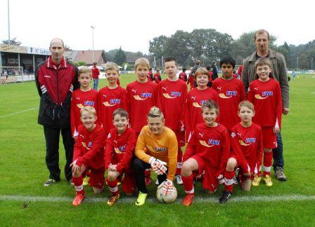 E-Junioren beim EWE-Cup