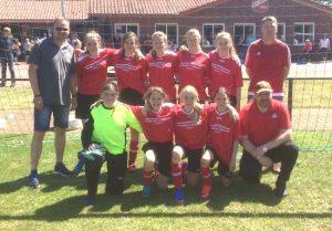 D-Juniorinnen erreichten 1. Platz beim internationalem Jugendfußballturnier in Niederlangen